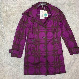 BODEN | Purple & Brown Rainyday Jacket